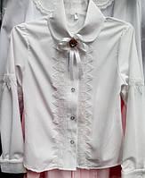 Блуза для девочки оригинального кроя 2307/40