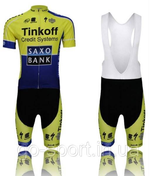 Велоформа Tinkoff  2013 bib