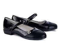 Подростковая школьная обувь. Туфли для девочек от производителя GFB E3098-1 (8 пар, 32-37)