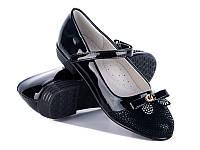 Подростковая школьная обувь. Туфли для девочек от производителя GFB E3099-1 (8 пар, 32-37)