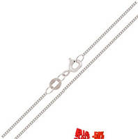Цепочка серебро панцирная 45см
