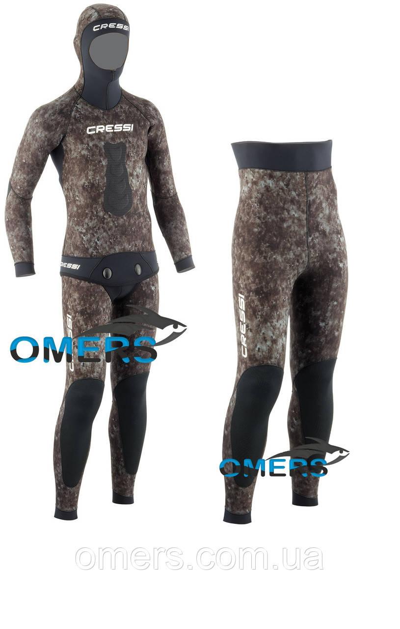 Гидрокостюм Cressi Tracina короткие штаны 7мм для подводной охоты