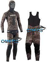 Гидрокостюм Cressi Tracina длинные штаны на лямках 7мм для подводной охоты