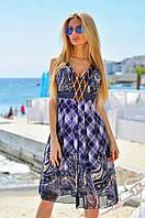 Летнее шифоновое платье ВХ-882927