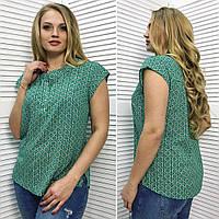 Летняя рубашка с коротким рукавом ЕМ-88731 (бат)
