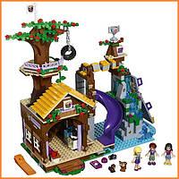 Конструктор Лего Френдс Спортивный лагерь: дом на дереве Lego Friends 41122