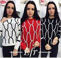 Женский молодежный свитер ФР-88502