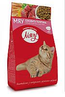 Сухой корм Мяу для взрослых кошек с телятиной,0,4кг