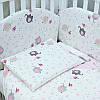 """Постельное белье в детскую кроватку """"""""Elephant"""" pink  pink"""" """"  Верес™"""