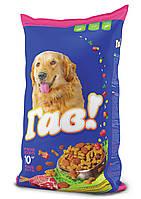 Сухой корм Гав для взрослых собак с мясным ассорти, 3кг