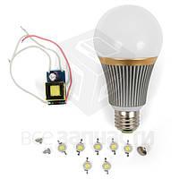 Комплект для сборки светодиодной лампы SQ-Q23 7 Вт (теплый белый, E27)
