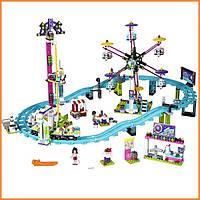 Конструктор Лего Френдс Парк развлечений: американские горки Lego Friends 41130
