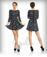 Женское платье мини в горошек АЖ-88985