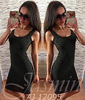 Женское модное платье - майка  АЖ-8812095