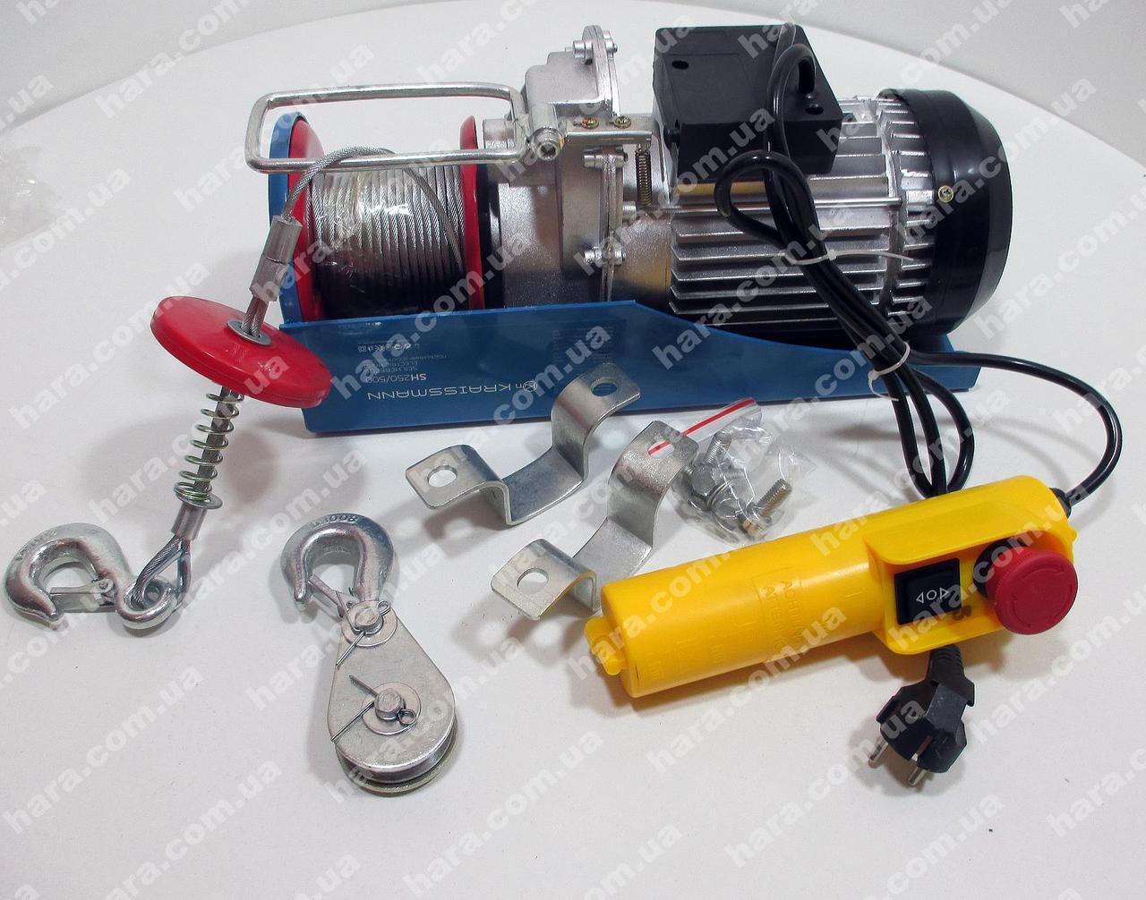 Электрический подъемник Kraissmann SH300/600
