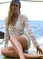 Пляжна сукня накидка
