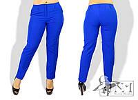 Классические женские брюки  большого размера КМ-88042