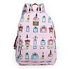 Модный школьный рюкзак с принтами духов