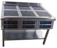 Плита индукционная 6ти конфорочная 3,5 кВт напольная Tehma 1177*800