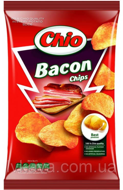 Чипсы со вкусом бекона  Chio, 75 гр