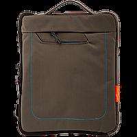 """Сумка для iPad, планшета LF016-DG до 9.7"""" полиэстер, темный серый"""