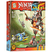 "Конструктор Ninja SY 857 (аналог Lego Ninjago) ""Битва с демоном"" 530 дет"