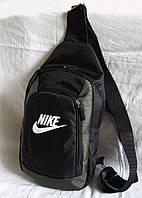 Сумка рюкзак через плечо вело спортивная Барсетка Найк 29х22х8см