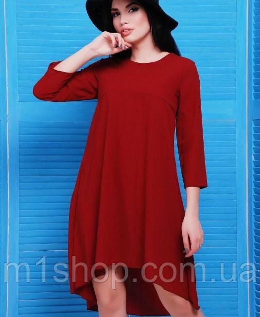 Асимметричное платье из креп-шифона (Viva fup)