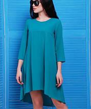 Асимметричное платье из креп-шифона (Viva fup), фото 3