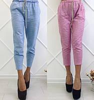 Женские летние брюки лен