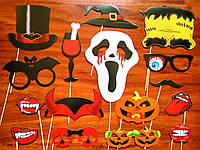 Фотобутафория ужастики на Хэллоуин, 16 предметов