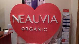 Сердце из пенопласта для презентаций продукта компании NEAUVIA 21