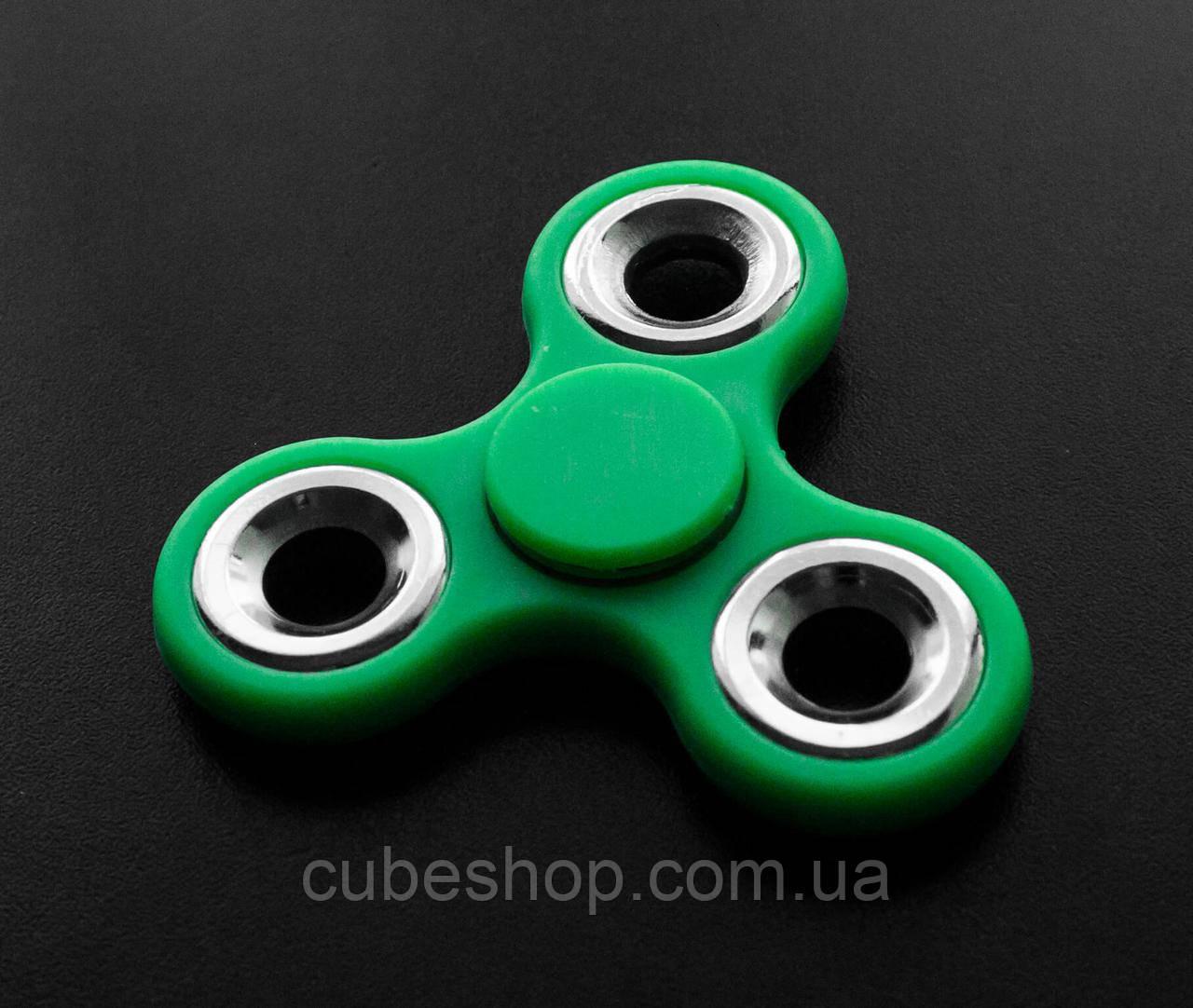 Спиннер классический Fidget Spinner зеленый