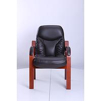 Кресло Буффало CF коньяк Кожа Люкс комбинированная Темно коричневая (AMF-ТМ)
