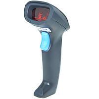 AW-2055 лазерный ручной сканер штрихкодов на подставке, фото 1