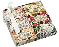 Натуральное мыло Романтика (подарочный набор) - 6 шт Х 150 гр.