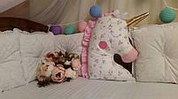 Іграшка-подушка єдиноріг. 100% бавовна., фото 2