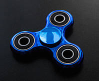 Спиннер металлический хромированный Blue&Black