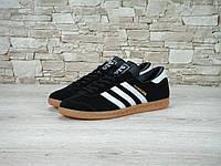 Кроссовки Adidas Hamburg Черно-Белые 41-45 рр