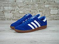 Кроссовки Adidas Hamburg Blue-White 41-45 рр
