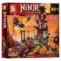 """Конструктор Ninja SY597 (аналог Lego Ninjago 70594) """"Осада маяка"""" , 776 деталей"""