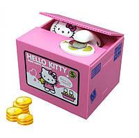 ТОП ВЫБОР! Копилка кошка-воришка Hello Kitty, Kitty Bank, 1002336, Копилка кошка-воришка, 1002336, Hello Kitty, hello kitty, копилка hello kitty,