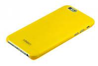 Чехлы на iPhone 6/6S, желтый XINBO (толщина 0.5 мм