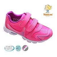 Детские кроссовки для девочки Tom.m Размеры: 26-31 розовые
