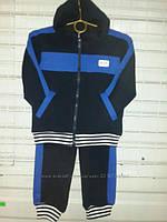 Спортивные костюмы трикотажные без утеплителя с капюшоном в расцветках 92-116 размеры, фото 1