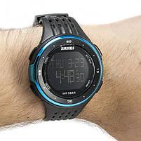 Часы спортивные Skmei 1219 Black-Blue, фото 2
