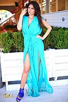 Платье летнее макси стильное 4054 ш $, фото 1