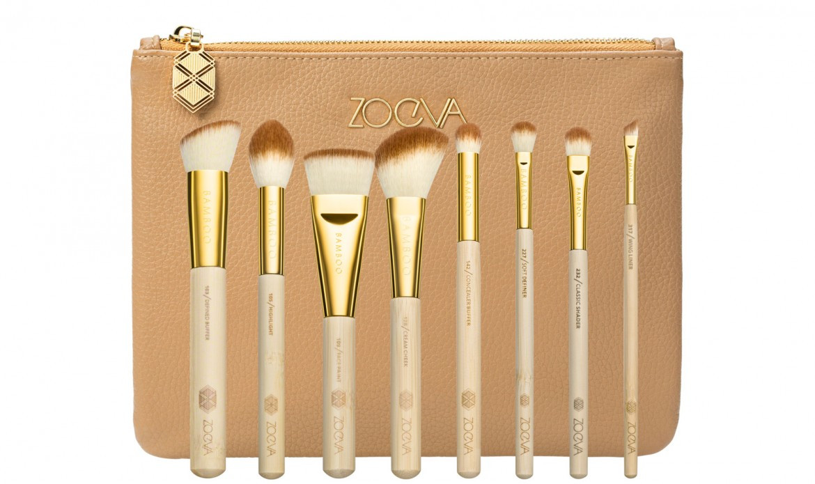 Набор кистей Zoeva BAMBOO LUXURY SET Vol. 2