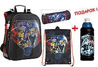 """Комплект. Рюкзак школьный Transformers TF15-531S + Пенал + Сумка, ТМ """"Kite"""""""