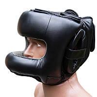 Шлем боксерский с бампером FIREPOWER FPHGA6 Black